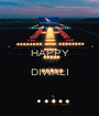 HAPPY  DIWALI  - Personalised Poster A1 size