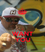 I WANT YOU - Personalised Poster A1 size