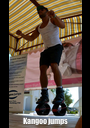 Kangoo jumps - Personalised Poster A1 size
