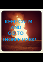 KEEP CALM        AND      GO TO THORPE PARK! - Personalised Poster A1 size