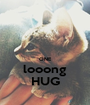 ONE looong HUG - Personalised Poster A1 size