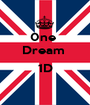 0ne  Dream   1D  - Personalised Poster A1 size