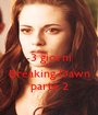 -3 giorni a Breaking Dawn parte 2 - Personalised Poster A1 size