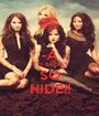 -A IS BACK SO HIDE!! - Personalised Poster A1 size