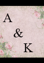 A     &         K - Personalised Poster A1 size