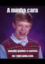 A minha cara quando ganhei o sorteio no TODECARA.com - Personalised Poster A1 size