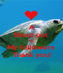 A Shout out  To My followers  Thank you! - Personalised Poster A1 size