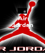 Air Jordan    - Personalised Poster A1 size