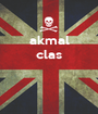 akmal clas    - Personalised Poster A1 size