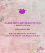 ALLES GUTE ZUM GEBURTSTAG LIEBE FATMA  wünschen Dir Rabia & MariamK & Khadra HananI & Hanan G & Mamo & Sara  - Personalised Poster A1 size