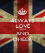 ALWAYS LOVE YAVYA AND DHEER - Personalised Poster A1 size
