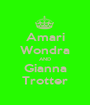 Amari Wondra AND Gianna Trotter - Personalised Poster A1 size