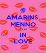 AMARINS, MENNO ZIJN IN LOVE - Personalised Poster A1 size