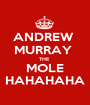 ANDREW  MURRAY  THE  MOLE HAHAHAHA - Personalised Poster A1 size