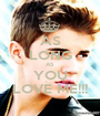 AS LONG AS YOU LOVE ME!!! - Personalised Poster A1 size