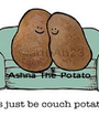 Ashna The Potato  - Personalised Poster A1 size