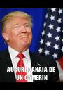 AUGURI CANAIA DE UN CAMERIN - Personalised Poster A1 size