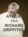 AVE ATQUE  VALE RICHARD GRIFFITHS  - Personalised Poster A1 size