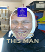 AVOID THIS MAN - Personalised Poster A1 size