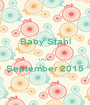 Baby Stahl  DUE September 2015  - Personalised Poster A1 size