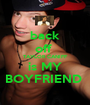 back off  TAYLOR CANIFF is MY BOYFRIEND  - Personalised Poster A1 size