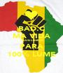BAD.C MA VIDA HOJE LISBOA PARA 100% LUME - Personalised Poster A1 size
