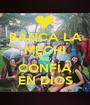 BANCA LA MECHI AND CONFÍA EN DIOS - Personalised Poster A1 size