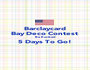 Barclaycard Bay Deco Contest  Be Excited 5 Days To Go!  - Personalised Poster A1 size