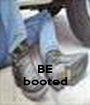 BE booted - Personalised Poster A1 size