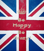 Be  Happy And Be  Crazy! - Personalised Poster A1 size