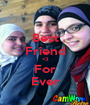 Best Friend <3 For Ever - Personalised Poster A1 size