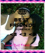 BEST  FRIENDS FOREVER <3 <3 <3  - Personalised Poster A1 size