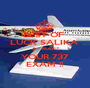 BEST OF  LUCK SALIKA  & '' MAX '' YOUR 737 EXAM !! - Personalised Poster A1 size
