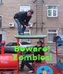 Beware! Zombies! - Personalised Poster A1 size