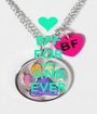 BFF FOR EVER AND EVER - Personalised Poster A1 size