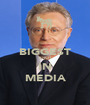 BIGGEST IDIOT IN MEDIA - Personalised Poster A1 size