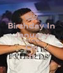 Birthday In January JUST WAIT On It - Personalised Poster A1 size