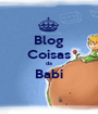 Blog Coisas da Babi  - Personalised Poster A1 size