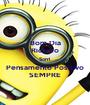 Bom Dia Ricardo Sorri Pensamento Positivo SEMPRE - Personalised Poster A1 size