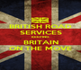 BRITISH ROAD SERVICES KEEPING BRITAIN ON THE MOVE - Personalised Poster A1 size