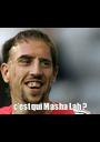 c'est qui Masha Lah ? - Personalised Poster A1 size