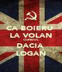 CA BOIERU  LA VOLAN CONDUC DACIA  LOGAN - Personalised Poster A1 size