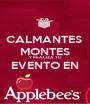 CALMANTES  MONTES  Y REALIZA TU  EVENTO EN  - Personalised Poster A1 size