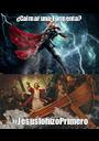 ¿Calmar una Tormenta? #JesúslohizoPrimero - Personalised Poster A1 size