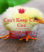 Can't Keep Calm Coz  2 Days left its RISHABH's BIRTHDAY - Personalised Poster A1 size