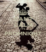 CAN'T CALM IT'S PROMNIGHT  - Personalised Poster A1 size