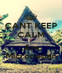 CANT KEEP CALM I Am Micronesian - Personalised Poster A1 size