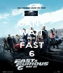 CAN'T WAIT FOR FAST 6 - Personalised Poster A1 size