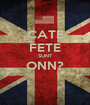 CATE FETE SUNT ONN?  - Personalised Poster A1 size