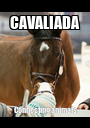 CAVALIADA Connecting animals - Personalised Poster A1 size